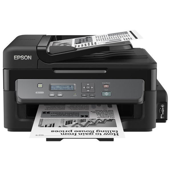 Multifunctional Inkjet Epson M200 Ciss, A4, Usb, Retea