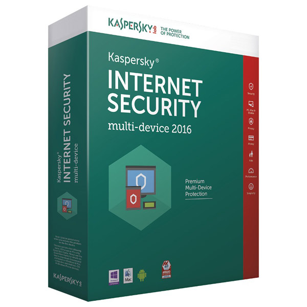 KASPERSKY Internet Security MultiDevice 2016 1 an 4 dispozitive Box