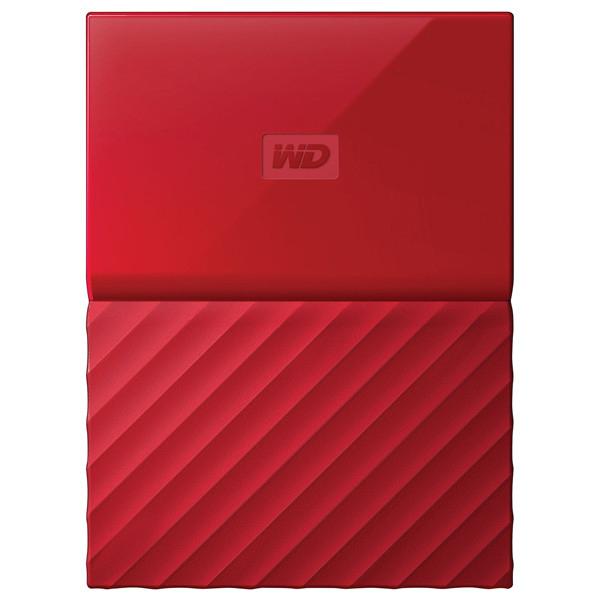 Hard Disk Drive Wd My Passport Wdbyft0030brd, 3tb, Usb 3.0, Rosu