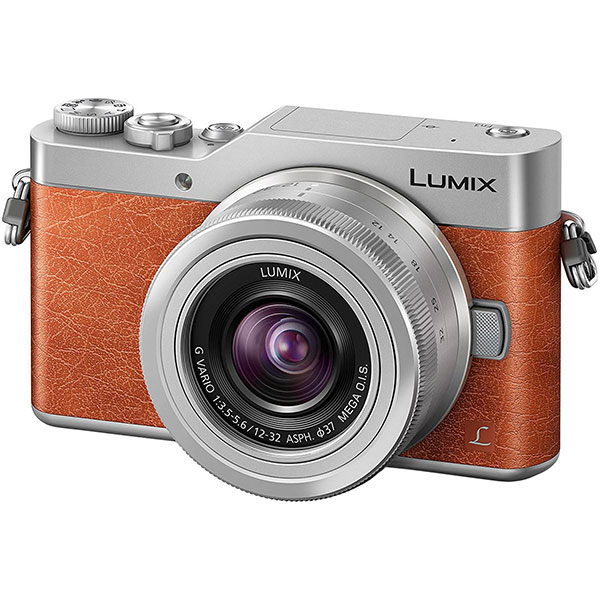 Camera Foto Mirrorless Panasonic Dcm-gx800, 16mp, 3 Inch + Obiectiv 12-32mm, Brown