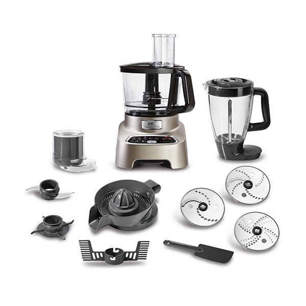 Robot De Bucatarie Tefal Double Force Do826h38, Vas 1.5l, Blender 1.5l, 1000w
