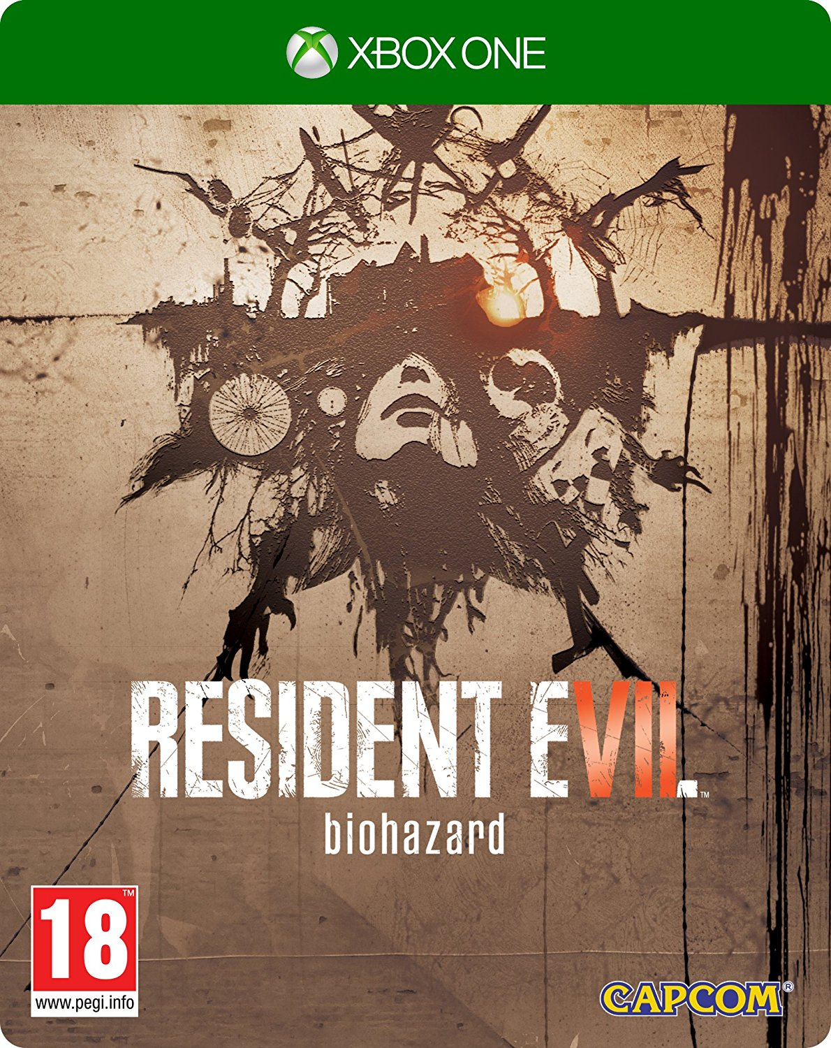 Book Cover Illustration Xbox One : Resident evil biohazard steelbook edition xbox one