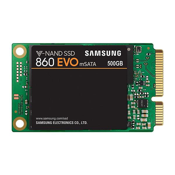 Solid-state Drive Samsung 860 Evo 500gb, Msata, Mz-m6e500bw