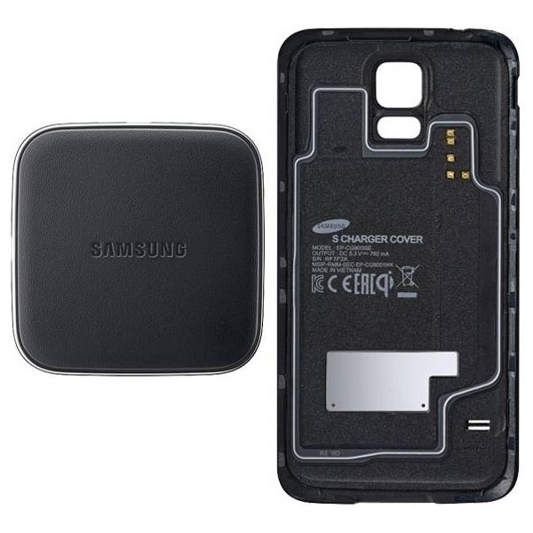 Kit incarcare Wireless pentru Samsung SMG900F Galaxy S5 SAMSUNG EPWG900IBEGWW Black