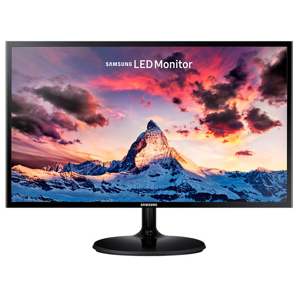 "Monitor Led Pls Samsung S24f350fhu, 23.5"", Full Hd, Negru"