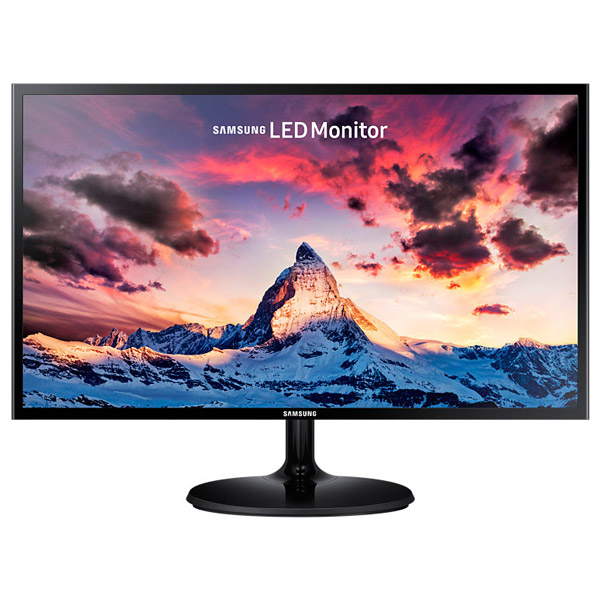 "Monitor Led Pls Samsung S27f350fhu, 27"", Full Hd, Negru"