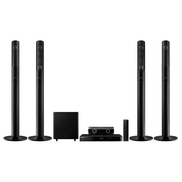 Sistem Home Cinema Smart Bluray 3D 51 SAMSUNG HTJ5550W 1000W LAN WiFi USB negru