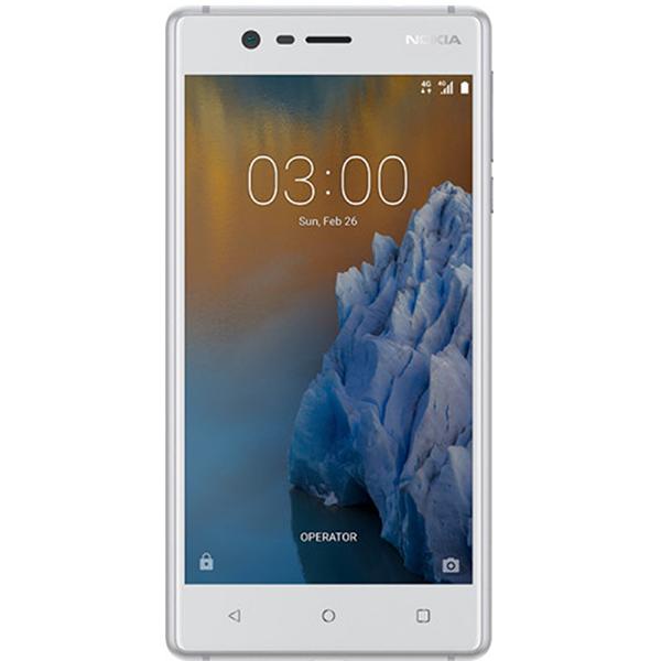 Telefon Nokia 3 Dual Sim 16gb, Silver White