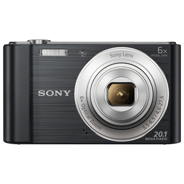Camera Foto Digitala Sony Dsc-w810, 20.1 Mp, 6x, Negru