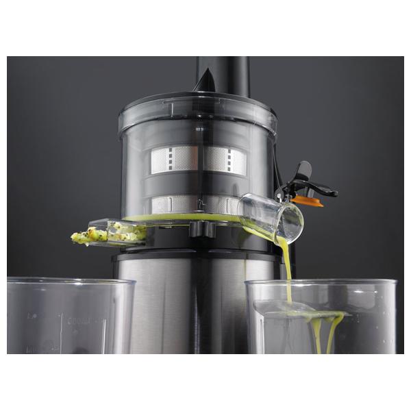 Slow Juicer Gorenje Cena : Storcator de fructe si legume GORENJE Slow Juicer JC4800vWY, 200W, 0.6l, negru-inox