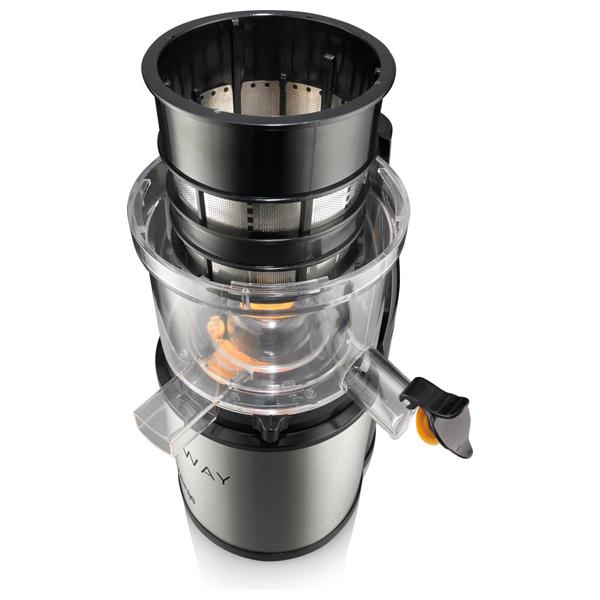 Gorenje Slow Juicer Jc4800vwy : Storcator de fructe si legume GORENJE Slow Juicer JC4800vWY, 200W, 0.6l, negru-inox
