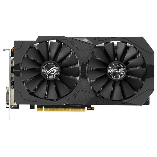 Placa Video Asus Nvidia Geforce Gtx 1050ti Strix Gaming, 128bit, Gtx1050ti-4g-gaming
