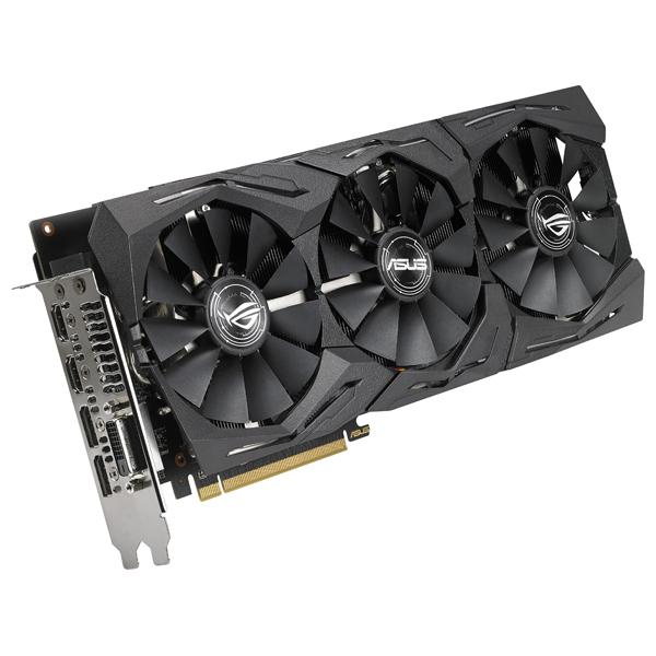 Placa Video Asus Amd Radeon Rx 580, 8gb Gddr5, 256bit, Strix-rx580-t8g-gaming