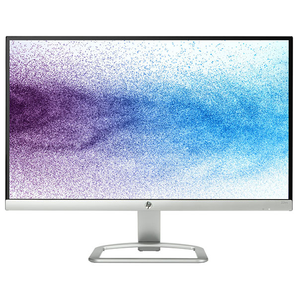 "Monitor Led Ips Hp 22es, 21.5"", Full Hd, Argintiu-negru"