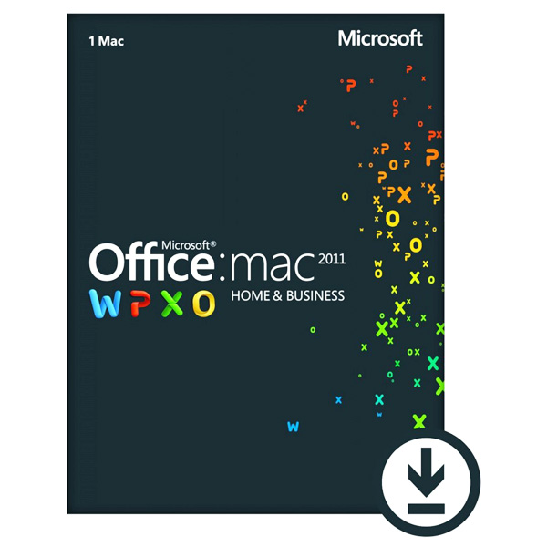 Licenta electronica ESD Microsoft Office for MAC Home and Business 2011 English
