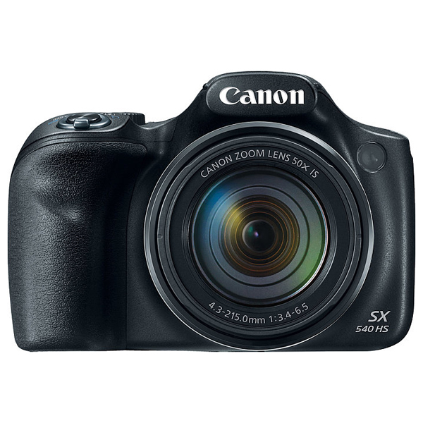 Camera Foto Digitala Canon Powershot Sx540 Hs, 20.3mp, 50x, 3 Inch, Black