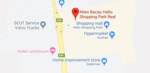 Altex Bacau Hello Shopping Park