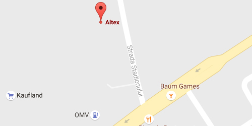 Altex Sighisoara Strip Mall