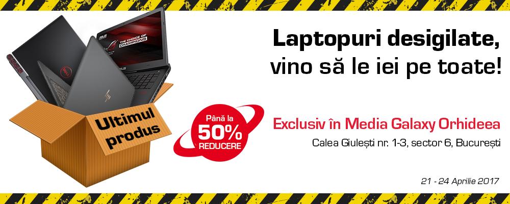Lichidare stocuri laptopuri Orhideea | Media Galaxy