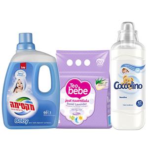 Detergenti hainute bebelusi si copii