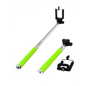 Selfie stick TELLUR TL7-5W Bluetooth, Lawn Green