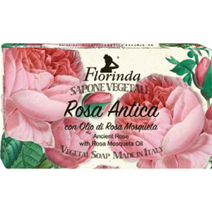 Sapun vegetal LA DISPENSA Florinda, Rosa Antica, 100g