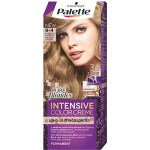 Vopsea de par PALETTE Intensive Color Creme, 9-4 Blond Deschis, 110ml