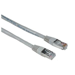 Cablu de retea STP Cat5e HAMA 30620, 30m, gri