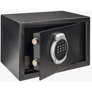 Seif electronic Hama Premium Home EP 200, otel, negru