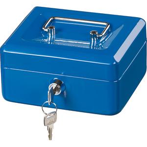 Caseta de valori Hama Basic KC 150D, otel, albastru