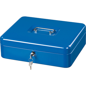 Caseta de valori Hama Basic KC 250ND, otel, albastru