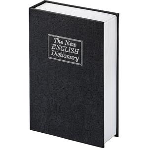 Caseta de valori Hama Book Safe BS 180, otel, negru