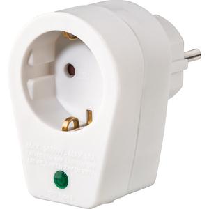 Adaptor cu protectie HAMA 108877, alb