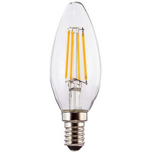 Bec LED XAVAX 112554, E14, 4W, 2700K, Alb cald