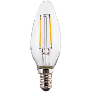 Bec LED XAVAX 112555, E14, 2W, 2700K, Alb cald