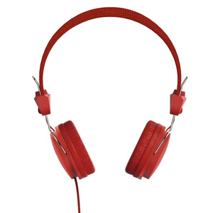 Casti HAMA Joy 135609, Cu Fir, On-Ear, Microfon, rosu