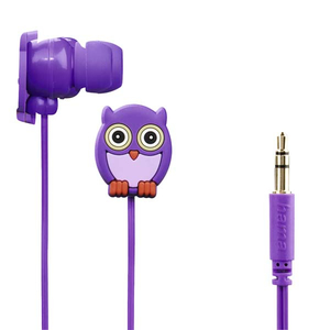 Casti HAMA Qwl 177024, Cu Fir, In-Ear, mov
