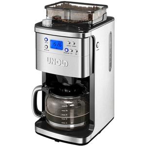 Cafetiera electrica cu rasnita UNOLD U28736, 1.5l, 1050W, negru-inox