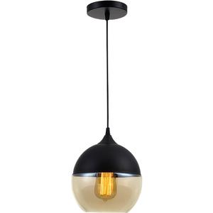 Pendul ERSTE LICHT Edison 0029475, 60W, E27, negru-bronz