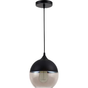Pendul ERSTE LICHT Edison 0029477, 60W, E14, negru-bronz