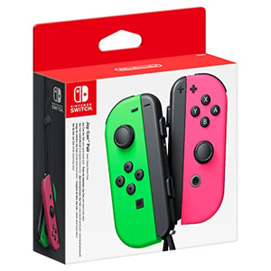 Pereche Joy-Con NINTENDO Switch, neon-pink