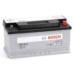 Baterie BOSCH S3 012 12V 88AH 740A