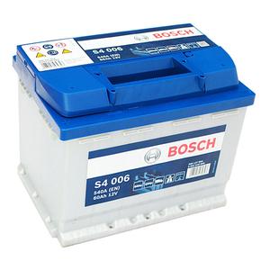 Baterie BOSCH S4 006 12V 60AH 540A