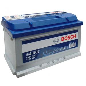 Baterie BOSCH S4 007 12V 72AH 680A