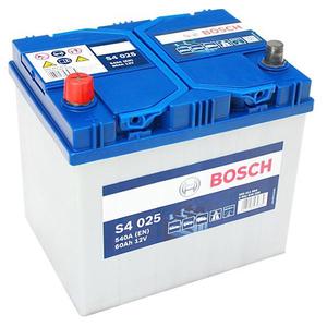 Baterie BOSCH Asia S4 025 12V 60AH 540A