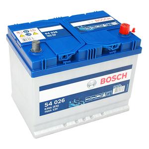 Baterie BOSCH Asia S4 026 12V 70AH 630A