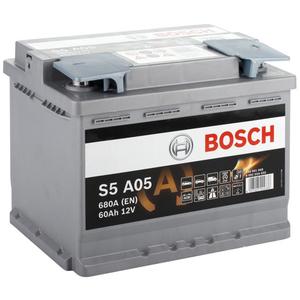 Baterie Start-stop AGM BOSCH S5A05 12V 60AH 680A