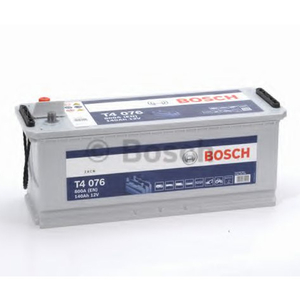 Baterie BOSCH Heavy duty T4 076 12V 140AH 800A