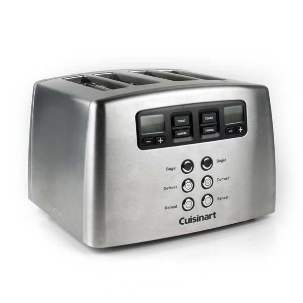 Prajitor de paine CUISINART CPT440E, 1650W, inox