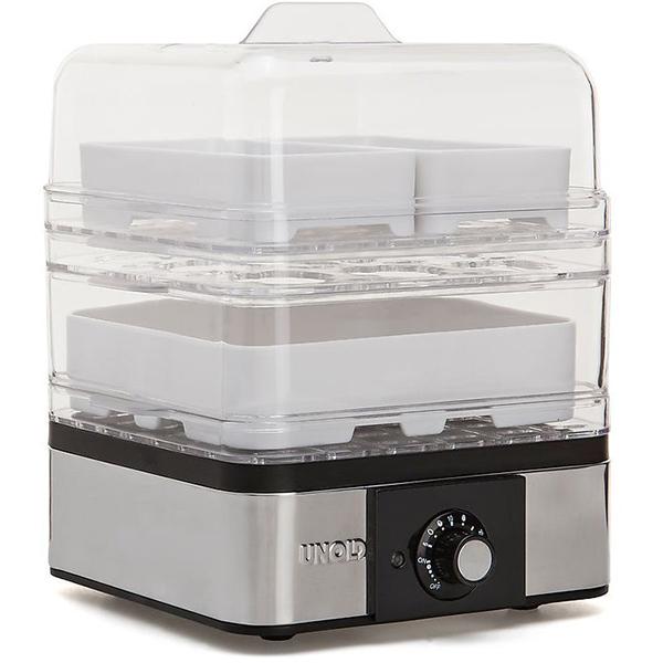 Mini aparat de gatit la aburi UNOLD U38650, 2 nivele, 400W